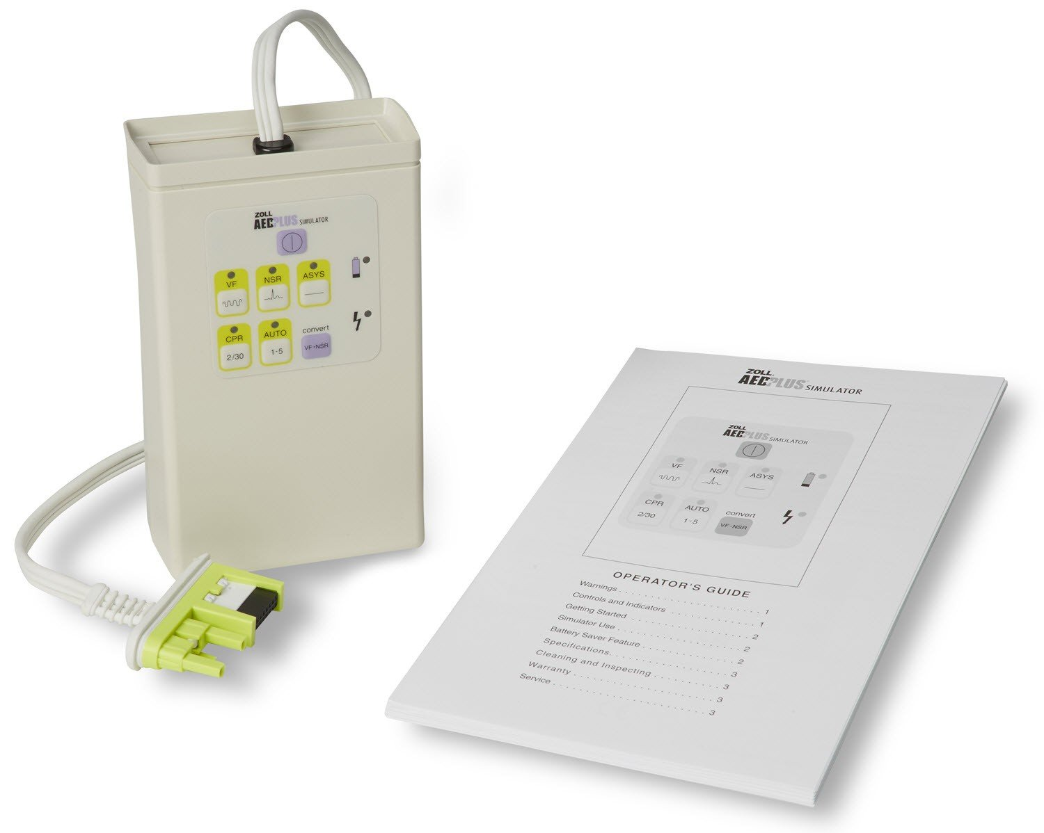 Simulátor/Tester pro AED